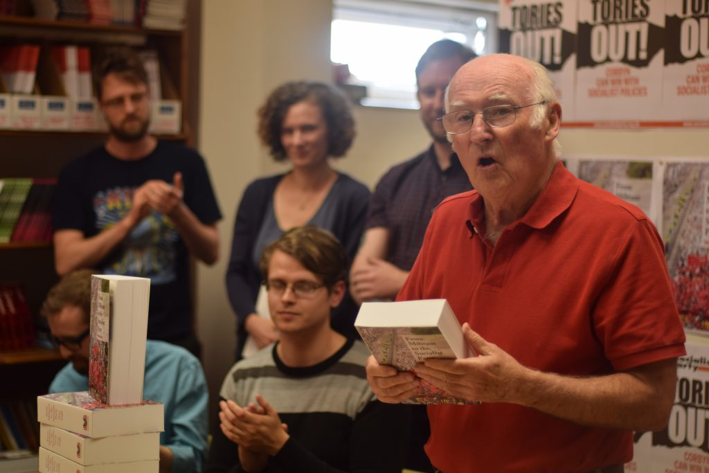 Peter Taaffe, author of From Militant to the Socialist Party. Photo Mary Finch