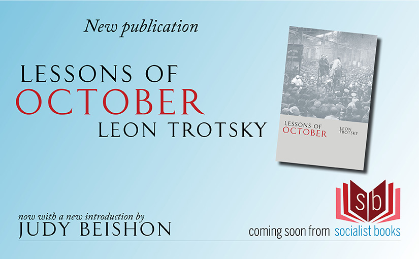 New publication: Lessons of October, by Leon Trotsky
