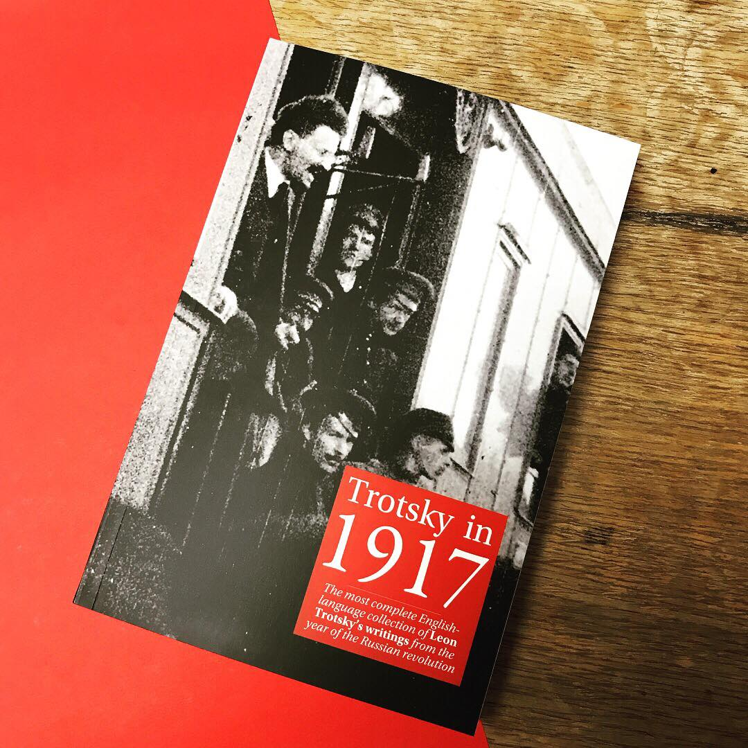 Trotsky in 1917 paperback