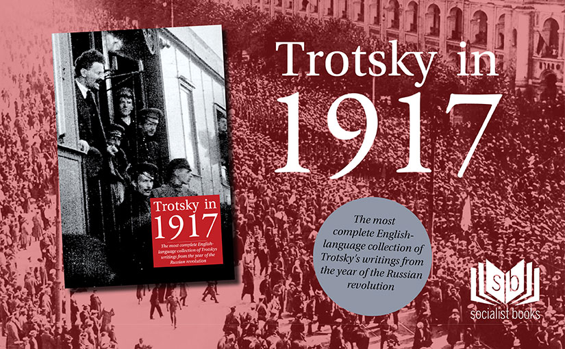 Trotsky in 1917 preorder